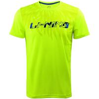 李宁(Lining)羽毛球服男款速干比赛上衣短袖T恤