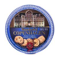 【中粮海外直采】杰克布森Jacobsens精彩哥本哈根丹麦黄油曲奇饼干454g (丹麦进口 盒)