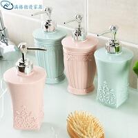 欧式雕花沐浴露分装瓶洗手液瓶子 洗发水空瓶按压瓶乳液瓶