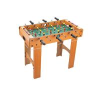 桌上足球机木质儿童桌式面台球桌玩具双人大号8杆节日礼品物