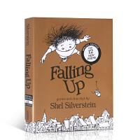 【全店300减100】英文原版 Falling Up 向上跌了一跤 爱心树作者 谢尔希尔弗斯坦 儿童诗词诗歌绘本 精装特