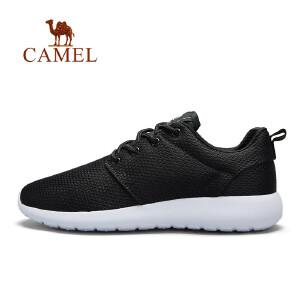 骆驼运动鞋 女春夏季舒适休闲鞋网面透气轻便跑步鞋女生跑步鞋