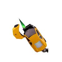 兰博基尼汽车模型钥匙扣挂件个性创意造型充气防风打火机