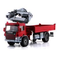 凯迪威 合金工程车随身吊运运输车 车模玩具 儿童节礼物