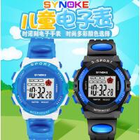 时诺刻/SYNOKE 儿童电子手表 3岁以上儿童手表现货 多功能夜光学生电子手表