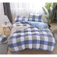 超柔软肤裸睡被套2.0m水洗棉四件套1.2米单人宿舍床上三件套件