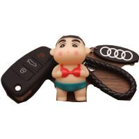 奥迪汽车钥匙包套壳A1 A3钥匙套Q3男女钥匙包 老A6Q7TT硅胶钥匙套