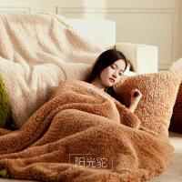 双层毛毯被子加厚保暖冬季双人珊瑚绒毯小毯子办公室午睡单人盖毯