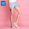 [真维斯尾品汇超值价25.9元]真维斯短裤夏季女学生夏装女装简约休闲直筒纯色卷边热裤