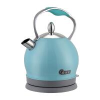欧点(oudim)电热水壶 家用电水壶2L容量不锈钢烧水壶自动断电防干烧开水壶 OD-G20C 蓝色