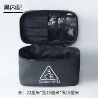 化妆包大容量韩国旅行防水大号简约便携小方包化妆品收纳包洗漱包