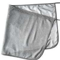 防辐射服护胎宝 防辐射孕妇服 防辐射肚兜 防辐射围裙 防辐射迷你小肚兜41 双层升级款(外层:加密全银纤维 + 里层: