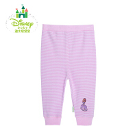 迪士尼Disney婴儿服装宝宝秋裤纯棉长裤 两用档裤子153K664