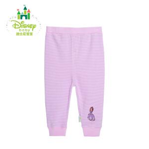 【3件4折】迪士尼Disney婴儿服装宝宝秋裤纯棉长裤 两用档裤子153K664
