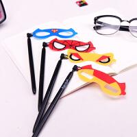languo蓝果 LG-9209 超级英雄 创意面具中性笔 颜色图案随机 单个销售 当当自营