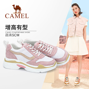 camel骆驼女鞋运动鞋韩版ulzzang原宿百搭跑步鞋休闲女
