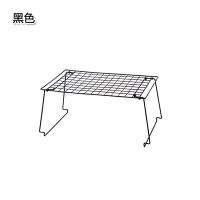 桌面收纳架 厨房储物架置物架杂物分隔架隔层架 橱柜沥水架碗碟架