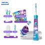 飞利浦(PHILIPS)电动牙刷Sonicare For 儿童牙刷 充电式声波震动牙刷 HX6322 智能APP互动