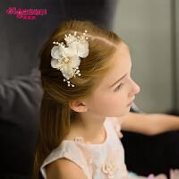 女童皇冠发卡发夹手工发饰演出配饰饰品儿童头饰女孩公主发饰