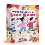 【发顺丰】英文原版绘本 We're Going on a Leaf Hunt我们一起捡树叶儿童绘本 幼儿启蒙学习英文版