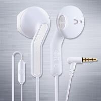 DZL 耳塞半入耳式vivo重低音炮运动有线耳机oppo苹果弯插通用男女 官方标配