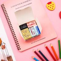 晨光橡皮批发小学生儿童用美术铅笔橡皮擦学习用品量贩装12个盒装