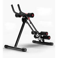 健腹器懒人收腹机腹部运动健身器材家用锻炼腹肌训练器美腰机 全新升级款 钢管加粗 带计数器 加滚轮 多挡调节