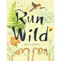 英文原版 《纽约时报》2018年度绘本 狂奔 Run Wild by David Covell