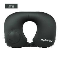 u型枕女充气枕按压式充气枕头旅行户外便携式旅游飞机坐车护颈枕