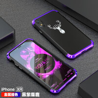 苹果x手机壳iphonexr手机壳潮男金属边框xr保护套潮牌个性磨砂iphone xs max网红带