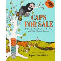 Caps for Sale 卖帽子(享誉75年的美国经典童书) ISBN9780064431439