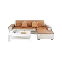 夏季沙发垫藤竹席凉席坐垫夏天防滑沙发套全包非�f能套通用罩全盖 -垂边