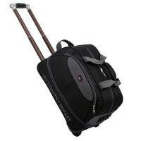 旅行包女拉杆包男大容量行李包旅行袋韩版时尚简约折叠拉伸防水潮