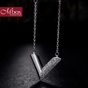 新年礼物Mbox项链 女韩国版原创采用波西米亚风元素时尚锁骨项链 时光流逝