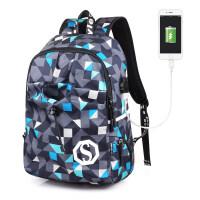 【支持礼品卡】韩版背包电脑包休闲双肩包女高中学生书包男士青年旅行包时尚潮流5of
