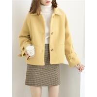 毛呢外套女学生宽松显瘦呢子大衣
