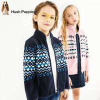 【秒杀价:129元】暇步士童装秋季新款男女同款外套时尚舒适摇粒绒外套儿童外套