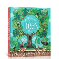 【全店300减100】英文原版 The Magic and Mystery of Trees 树木的奥秘 DK儿童百科科