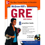 MCGRAW-HILL'S GRE WITH CD-ROM, 2013 EDIT(ISBN=9780071794657