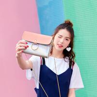 新款时尚圆环链条小包包女包韩版迷你小包单肩斜跨包