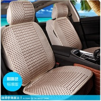 汽车四季通用座夏季冰丝套全包座椅套座套养生透气通用座垫全包围