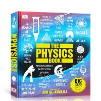 【全店300减100】英文原版 物理百科读物 DK出版Big Ideas The Physics Book 青少年科学启