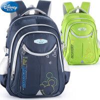 迪士尼小学生书包男童女童1-3-6年级米奇6-12岁儿童休闲双肩背包