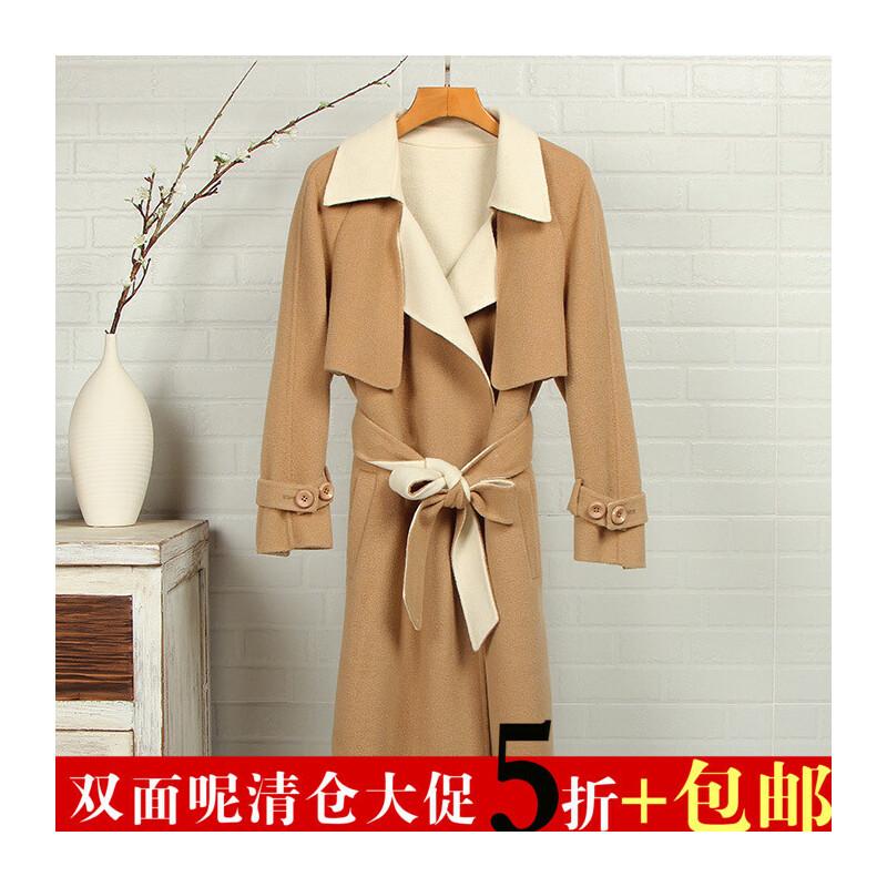 【铭】新款 蝴蝶结羊毛双面呢风衣7A8011高端女装 一般在付款后3-90天左右发货,具体发货时间请以与客服协商的时间为准