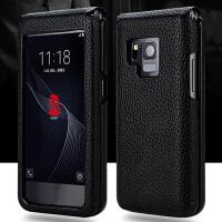 三星W2019手机套w2018皮套W2015保护套W2017真皮G9298外壳G9198手机壳大器四