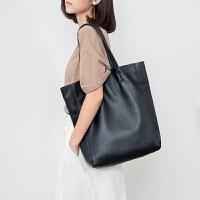 包包女2019新款时尚手提单肩包真皮大包头层牛皮简约大容量包