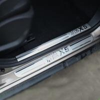 东风风行景逸x5 x3 xv lv xl门槛条 迎宾踏板 改装专用 红色