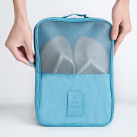 旅行鞋子收纳袋女士运动鞋整理袋大容量鞋包户外旅游收纳包