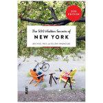 【500个隐藏秘密旅行指南】New York,纽约 英文原版旅游攻略