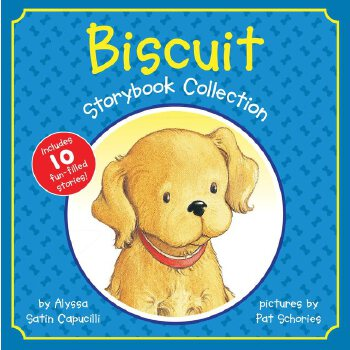Biscuit Storybook Collection 小饼干的故事合集(精装)ISBN9780060759049 (含Biscuit小饼干10个经典故事)